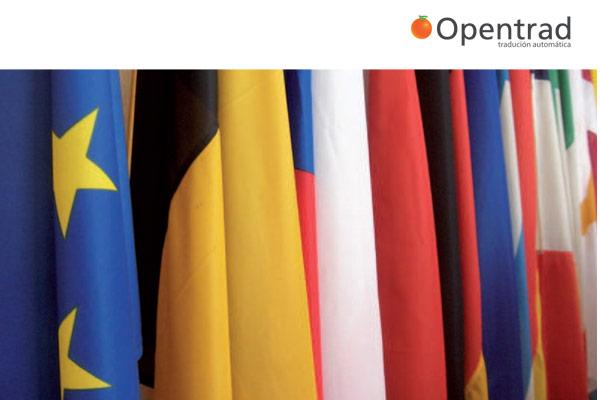 Opentrad, sistema de traducción automática